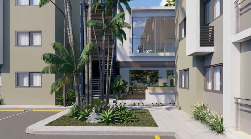 Modern apartments, with pool, gym and multipurpose room | Real Estate in Dominican Republic