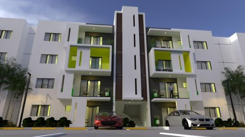 Apartment project with swimming pool. | Real Estate in Dominican Republic