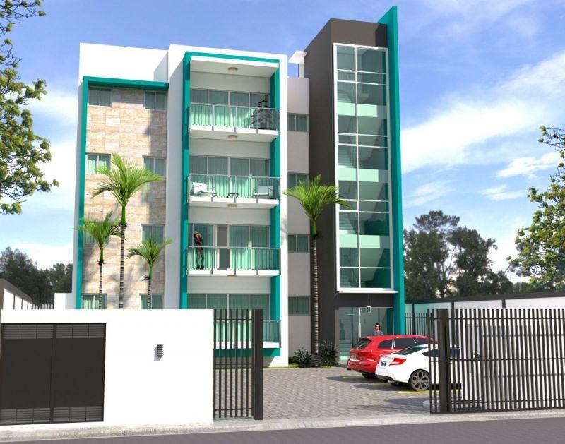 En un tiempo de distanciamiento social , te ofrezco comfort y seguridad para tí y los tuyos .  Área exclusiva, solo 4 apartamentos , uno por nivel . | Bienes Raices Republica Dominicana